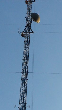 Tower work being completed